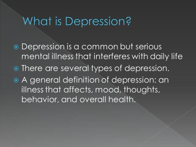 inpatient treatment for depression