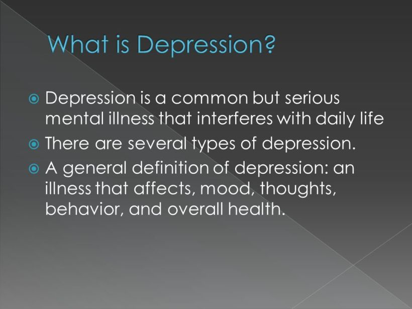 inpatient treatment for depression